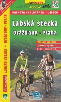 Obrázok Labská stezka, Drážďany-Praha 1:60 000