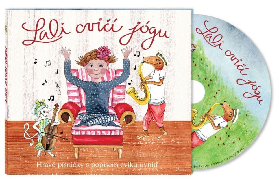 Lali cvičí jógu (CD) - Andrea Krupanská, René Krupanský, Hanka Luhanová