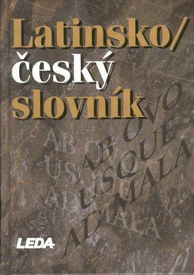 Obrázok Latinsko/český slovník