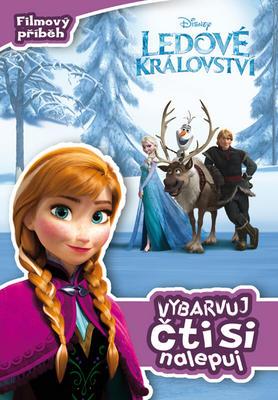 Obrázok Ledové království Filmový příběh Vybarvuj, čti si, nalepuj!