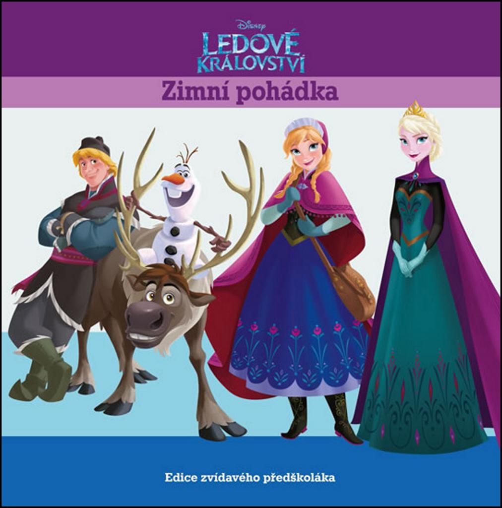 Ledové království Zimní pohádka - Walt Disney
