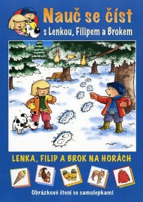 Obrázok Lenka, Filip a Brok na horách