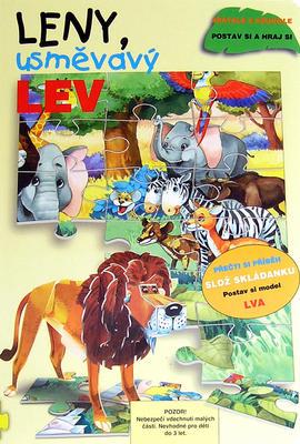 Obrázok Leny, usměvavý lev