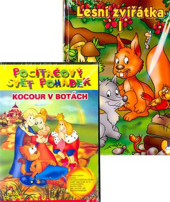 Obrázok Lesní zvířátka + CD ROM