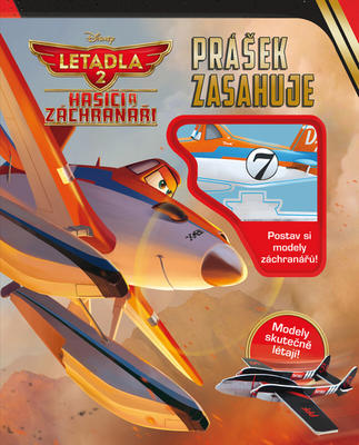 Obrázok Letadla 2 Hasiči a záchranáři Prášek zasahuje