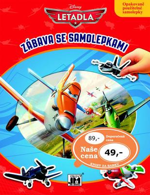 Obrázok Letadla Zábava se samolepkami