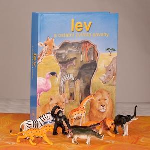 Obrázok Lev a ostatní zvířata savany
