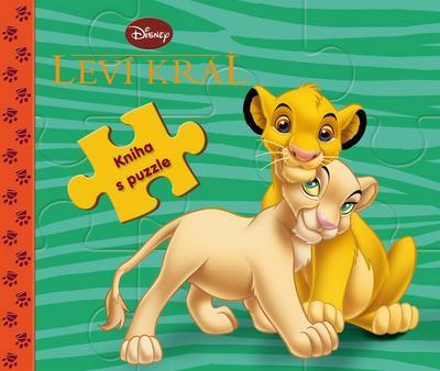 Obrázok Leví kráľ kniha s puzzle