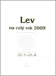 Obrázok Lev na celý rok 2009