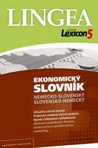 Obrázok Lexicon5 Ekonomický slovník nemecko-slovenský slovensko-nemecký