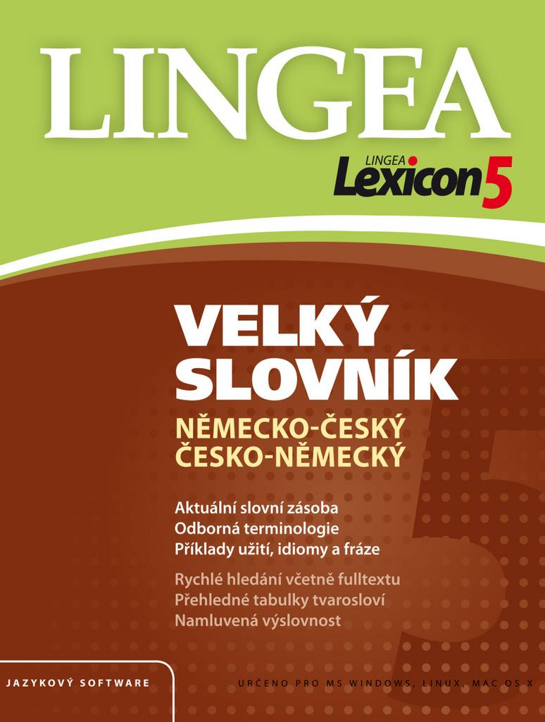 Lexicon5 Velký slovník německo-český česko-německý - Kolektiv autorů
