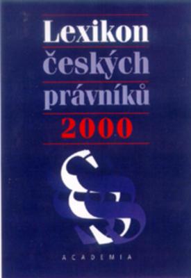 Obrázok Lexikon českých právníků 2000
