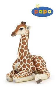 Obrázok Ležící žirafa mládě
