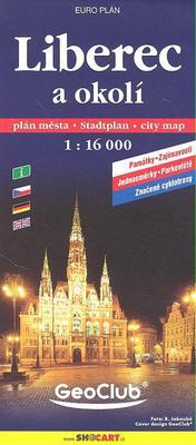 Obrázok Liberec a okolí 1:16 000