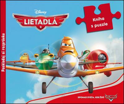 Obrázok Lietadlá kniha s puzzle