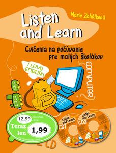Obrázok Listen and Learn Cvičenia na počúvanie pre malých školákov + 2 CD