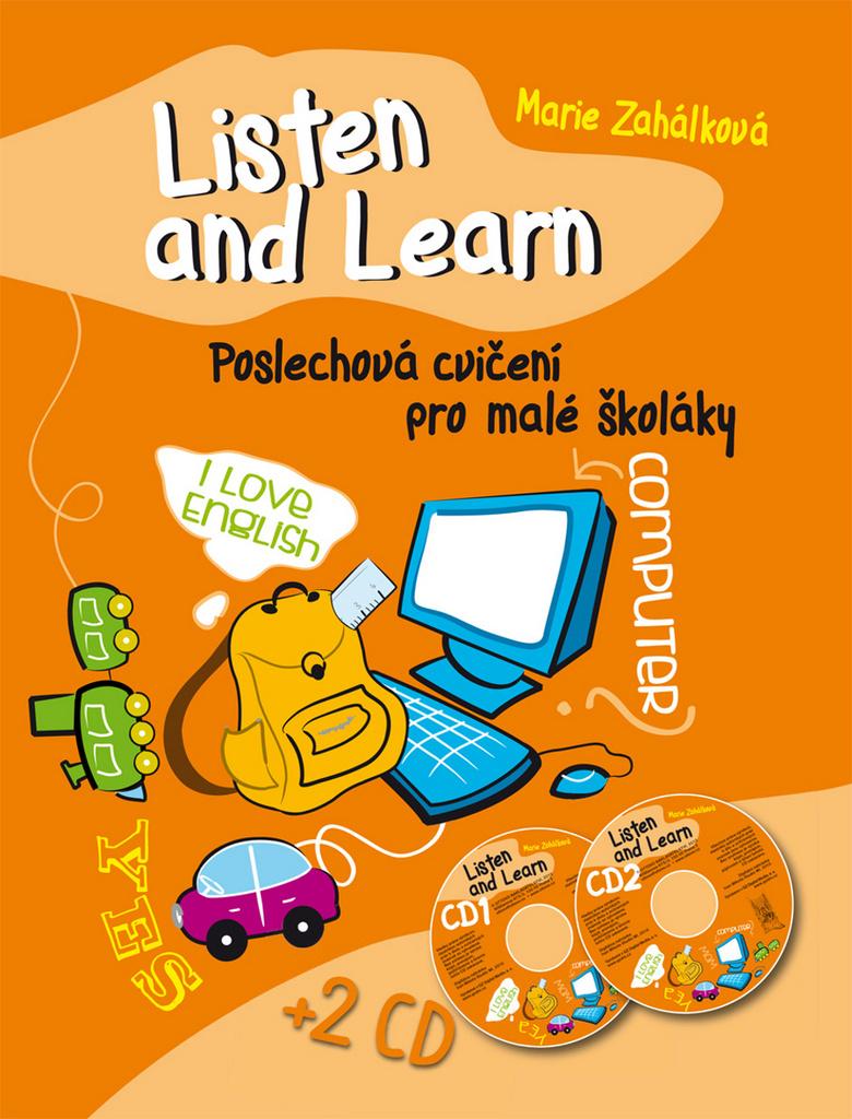 Ottovo nakladatelství Listen and Learn Poslechová cvičení pro malé školáky + 2 CD - Marie Zahálková