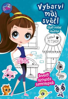 Obrázok Littles Pet Shop Vybarvi můj svět! Čtyři roční období