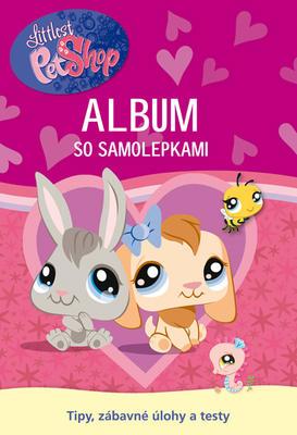 Obrázok Littlest Pet Shop Album so samolepkami