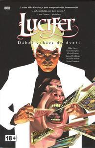 Obrázok Lucifer Ďábel vchází do dveří