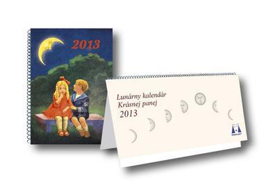 Obrázok Lunárny kalendár Krásnej panej 2013