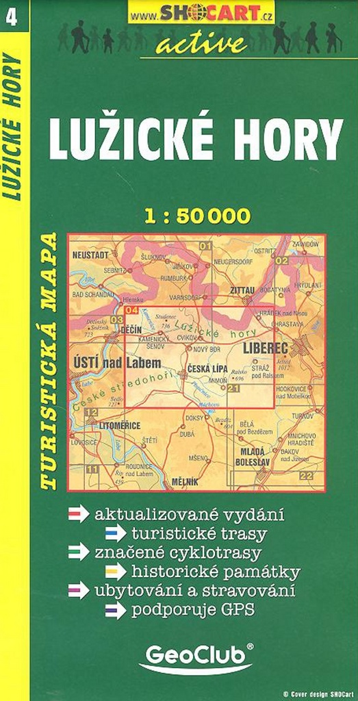 Lužické hory 1:50 000