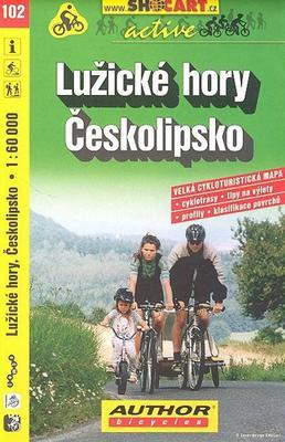 Lužické hory, Českolipsko 1:60 000