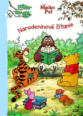 Obrázok Macko Puf Narodeninové čítanie