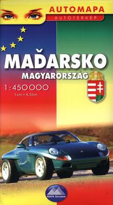 Obrázok Maďarsko 1:450 000