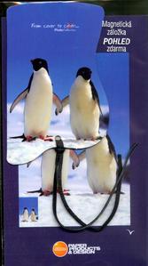 Obrázok Magnetická záložka Tučňáci - MZ 024