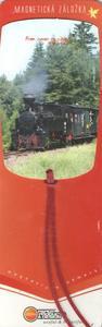 Obrázok Magnetická záložka Vláček 2 - MZ 041