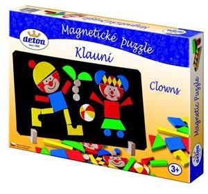 Obrázok Magnetické puzzle Klauni