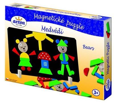 Obrázok Magnetické puzzle Medvědi