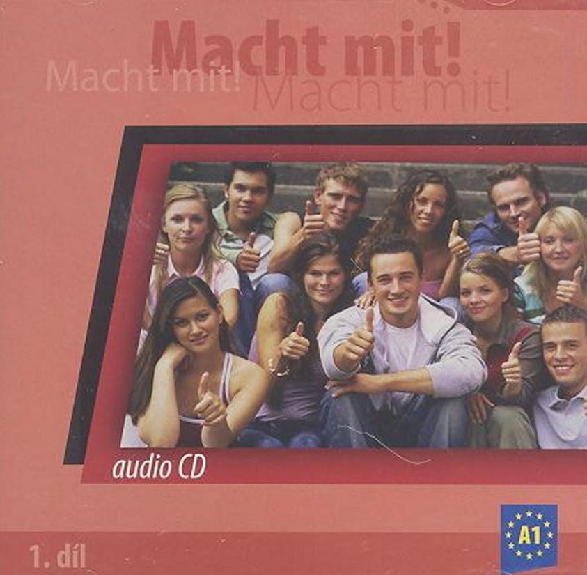 Macht mit! 1. díl audio CD
