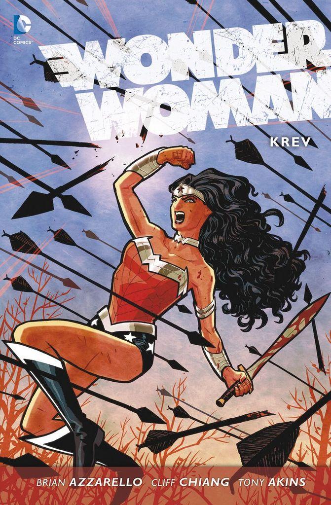 Wonder Woman Krev - Brian Azzarello
