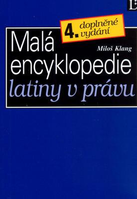 Obrázok Malá encyklopedie latiny v právu