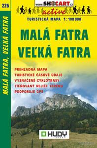 Obrázok Malá Fatra, Veľká Fatra 1:100 000