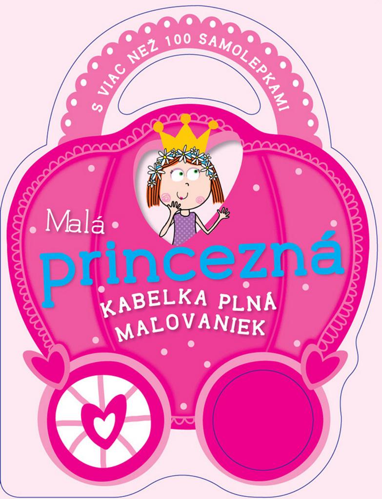 Malá princezná Kabelka plná maľovaniek