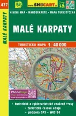 Obrázok Malé Karpaty 1:40 000
