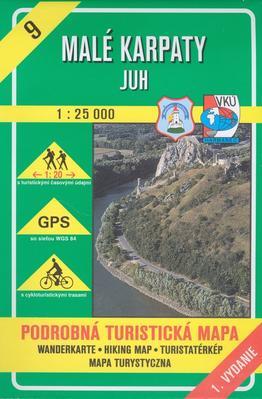 Obrázok Malé Karpaty - juh 1 : 25 000