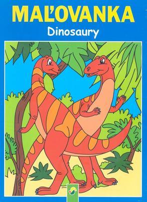Obrázok Maľovanka Dinosaury