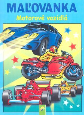 Obrázok Maľovanka Motorové vozidlá