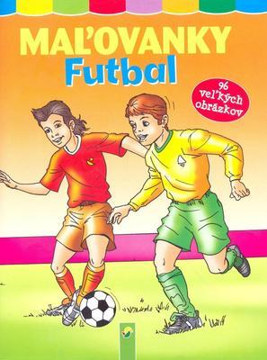 Obrázok Maľovanky futbal