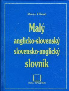 Obrázok Malý anglicko - slovenský, slovensko - anglický slovník PVC