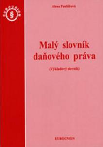 Obrázok Malý slovník daňového práva