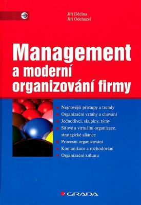 Obrázok Management a moderní organizování firmy