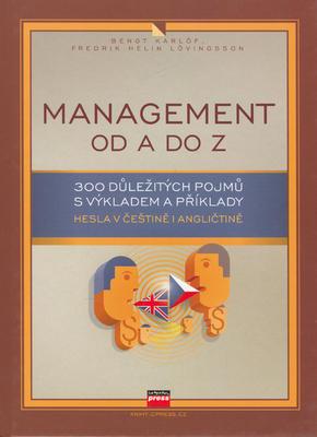 Obrázok Management od A do Z