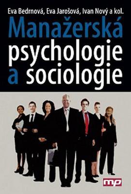 Obrázok Manažerská psychologie a sociologie