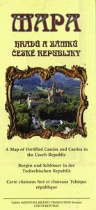 Obrázok Mapa hradů a zámků České republiky