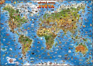 Obrázok Dětská mapa světa